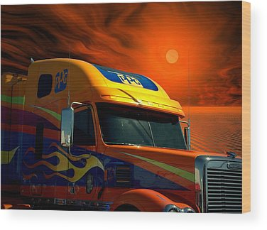 Freightliner Wood Prints