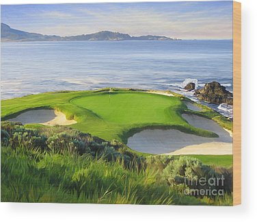 Golf Course Wood Prints