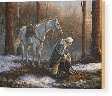 George Washington Wood Prints