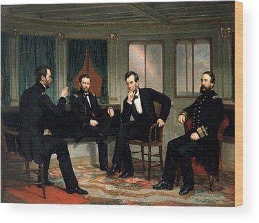 Civil War Generals Wood Prints
