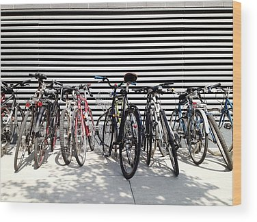 Bicycles Wood Prints