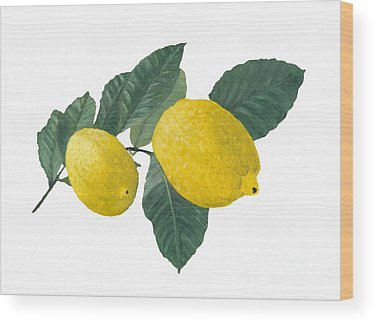 Lemon Wood Prints