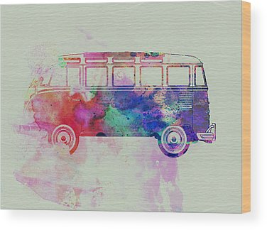 Hippy Wood Prints