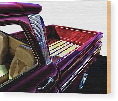 Chevy Pickup Wood Prints