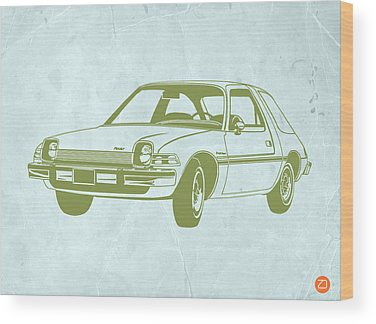 Auto Drawings Wood Prints
