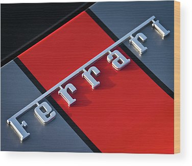 Supercars Wood Prints