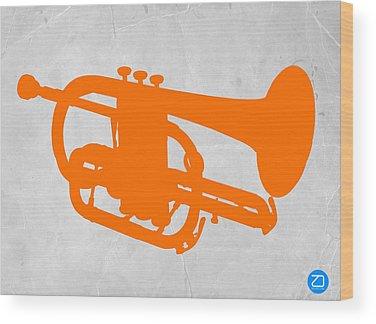 Trombone Wood Prints