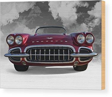 Collector Car Wood Prints