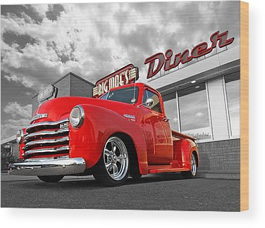 Old Chevy Truck Wood Prints
