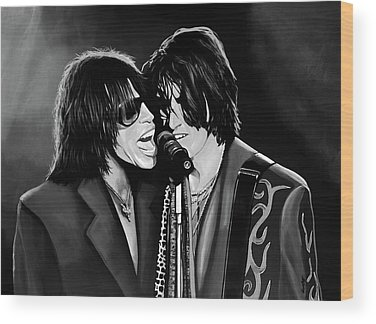Steven Tyler Wood Prints