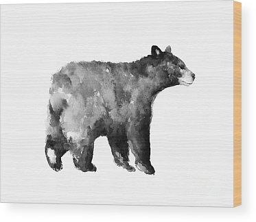 Bear Wood Prints