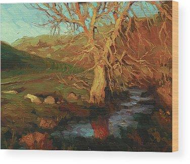 Leafless Tree Wood Prints