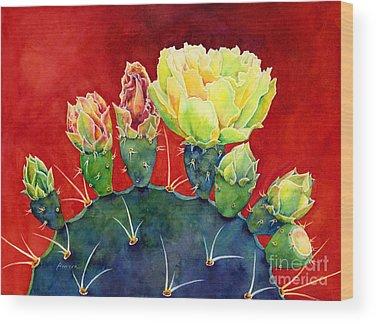 Desert Flowers Wood Prints