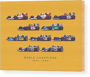 Benetton Wood Prints