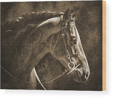 Warmblood Wood Prints