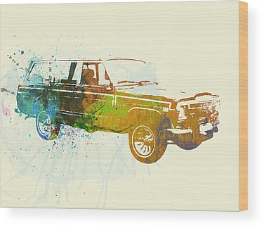 Vintage Automobiles Wood Prints