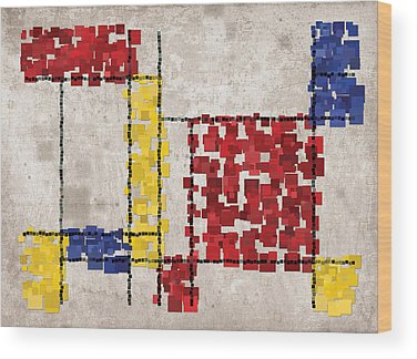 Cubist Wood Prints