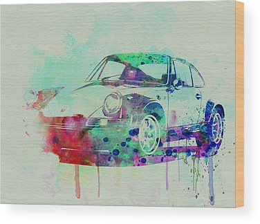 Porsche Wood Prints