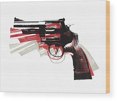 Bullet Wood Prints