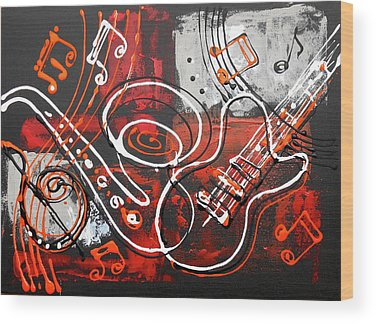 Klezmer Band Wood Prints
