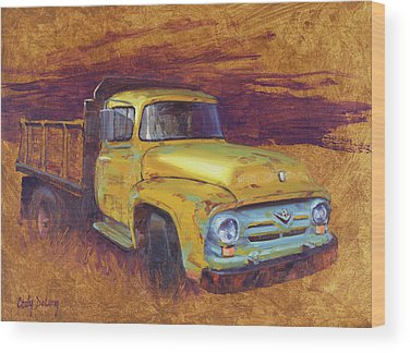 Old Ford Truck Wood Prints