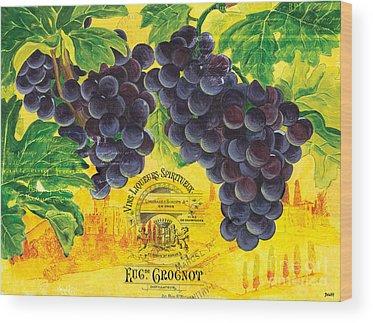 Vines Wood Prints