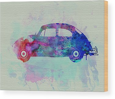 Vw Beetle Wood Prints