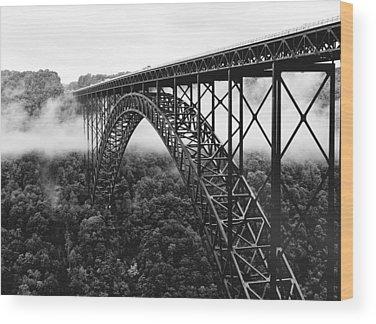West Virginia Wood Prints