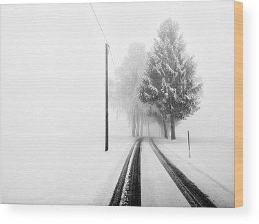 Tracks Wood Prints