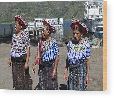 Women Wood Prints