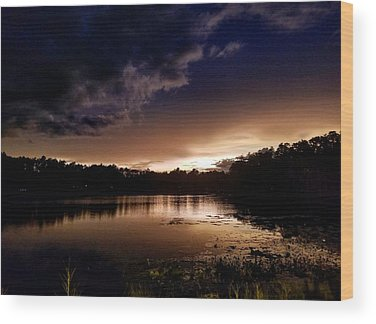 Landscapes Photographs Wood Prints