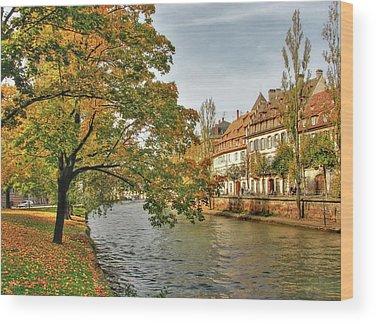 River Ill Wood Prints