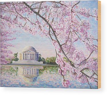 Jefferson Memorial Wood Prints