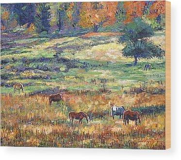 Open Range Wood Prints