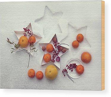 Grapefruit Wood Prints