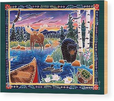 Loon Wood Prints