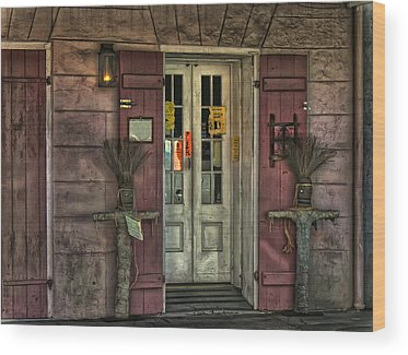 Voodoo Shop Wood Prints