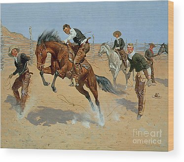 Wild West Wood Prints