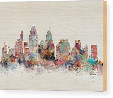 Cincinnati Wood Prints
