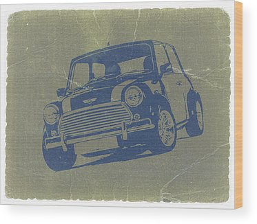 Mini Cooper Wood Prints