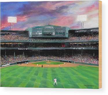 Boston Red Sox Wood Prints