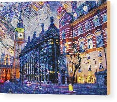 Elizabeth Tower Wood Prints