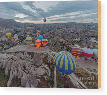 Kapadokya Wood Prints
