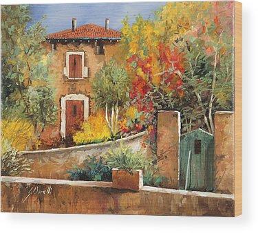 Village Gate Wood Prints