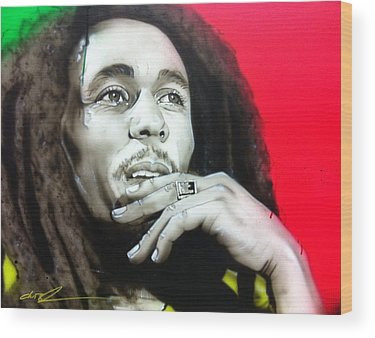 Rasta Wood Prints