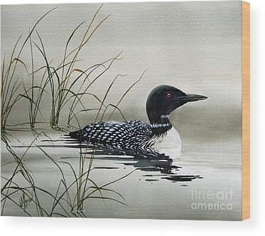 Loon Wood Prints