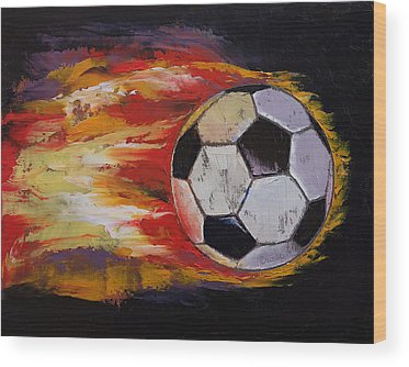 Fire Ball Wood Prints