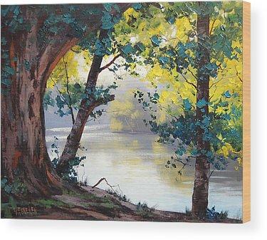 Atmospheric Wood Prints