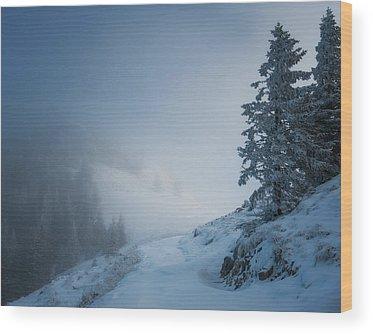 Slope Wood Prints