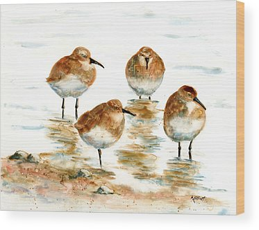 Sandpiper Wood Prints